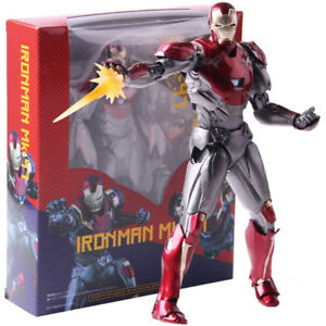 Shfiguarts-Marvel-Iron-Man-Mark-XLVII-MK-47-PVC-Aktion-Figur-Modell-Spielzeug