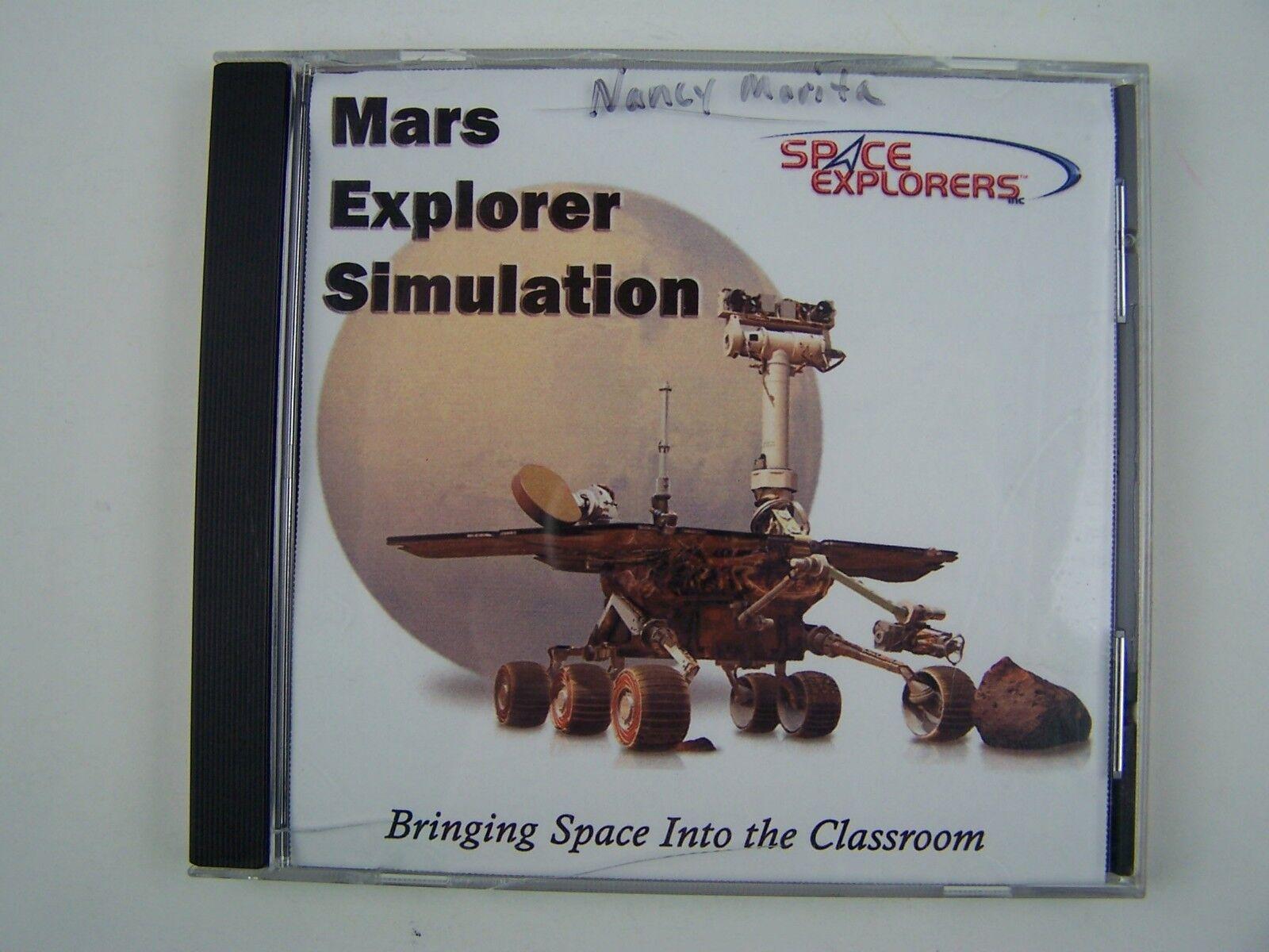 Space Explorers Mars Explorer Simulation PC CD-ROM