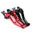 CNC-Short-Adjustable-Levers-Clutch-Brake-For-KINJA-ABC-600-F2-F3-F4-F4i-91-07 thumbnail 12