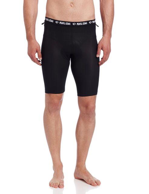 Pearl Izumi Mens Liner Shorts, Black, Large