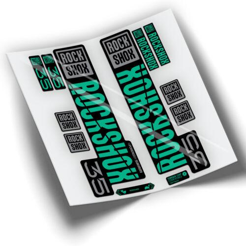 PEGATINAS HORQUILLA ROCKSHOX 35 2021 WP397 AUFKLEBER STICKERS ADESIVI VINILOS