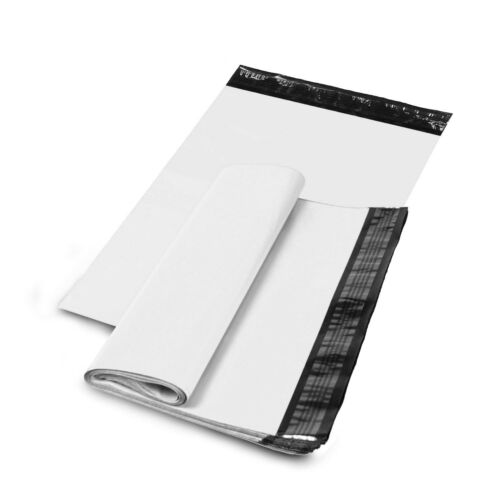 "5/"" x 7/"" SHIPPING ENVELOPES POLY MAILERS SELF SEALING MAILING BAGS PLASTIC WHITE"