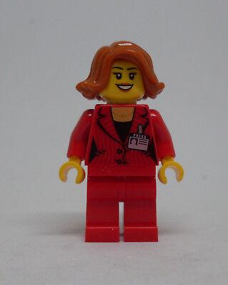 City Journalistin Lego Game Reporterin Sport Moderatorin Figur - Neu