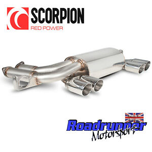 Scorpion-M3-E46-Back-Box-Rear-Silencer-Exhaust-SBMB050-Stainless-Polished-Twin