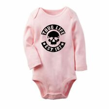 3fa610c45ba item 1 NEW THUG LIFE Newborn Baby Long Sleeve Romper Bodysuit Jumpsuit Outfits  Clothes -NEW THUG LIFE Newborn Baby Long Sleeve Romper Bodysuit Jumpsuit ...