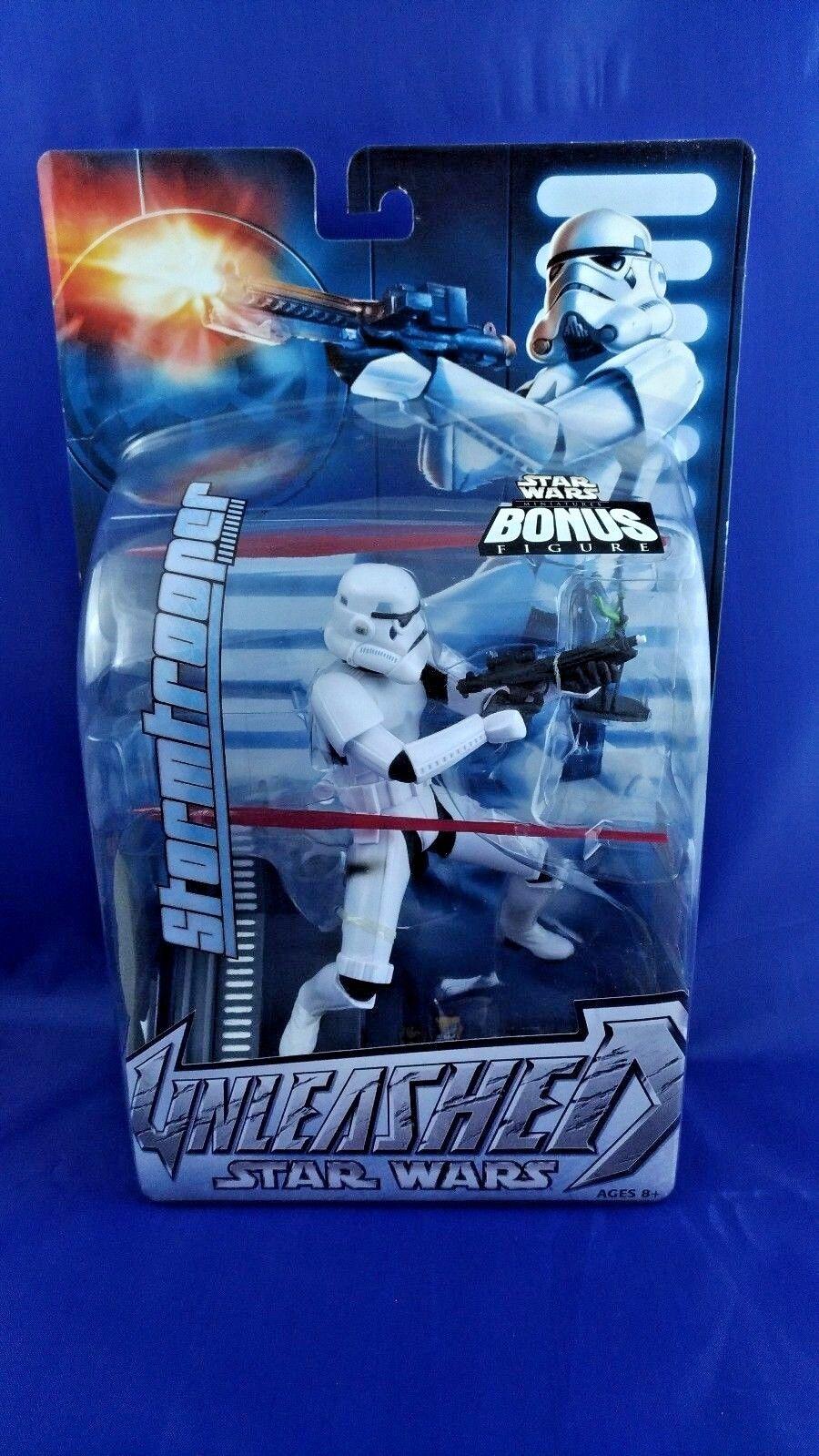 Storm Trooper Star Wars Unleashed SEALED MOC action figure