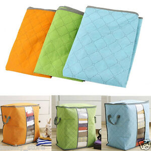 Portable-Storage-Box-Non-Woven-Underbed-Clothing-Shoes-Organizer-Pouch-Box-V
