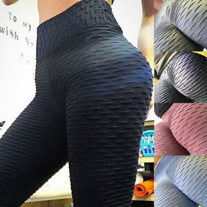 484f50bc3c US Women Butt Lift Yoga Pants Hip Push Up Leggings Exercise Workout ...