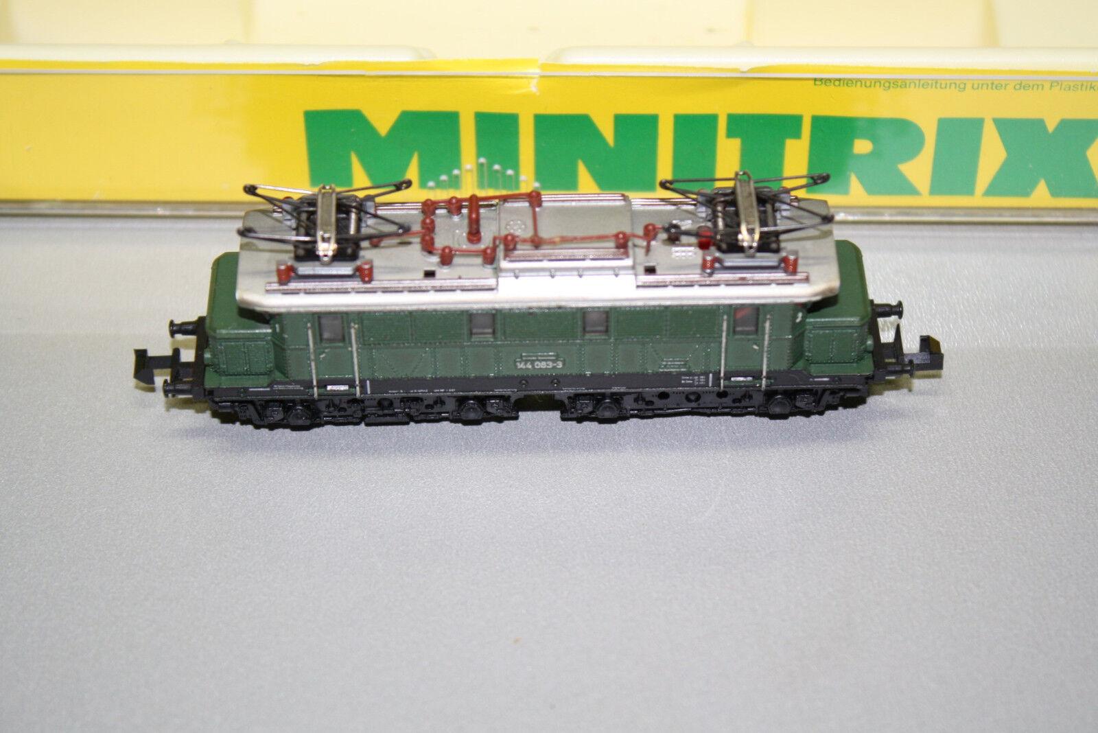 Minitrix 12033 elok serie siano 144 083-3 Traccia N OVP