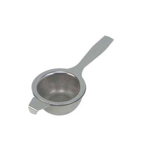 Dexam Tea Strainer with drip bowl Stainless steel