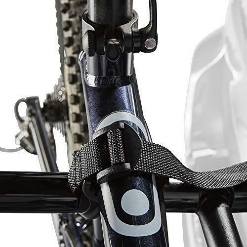 Allen Sports Deluxe 2-Bike Hitch Mount Rack  Silver//Black 522RR