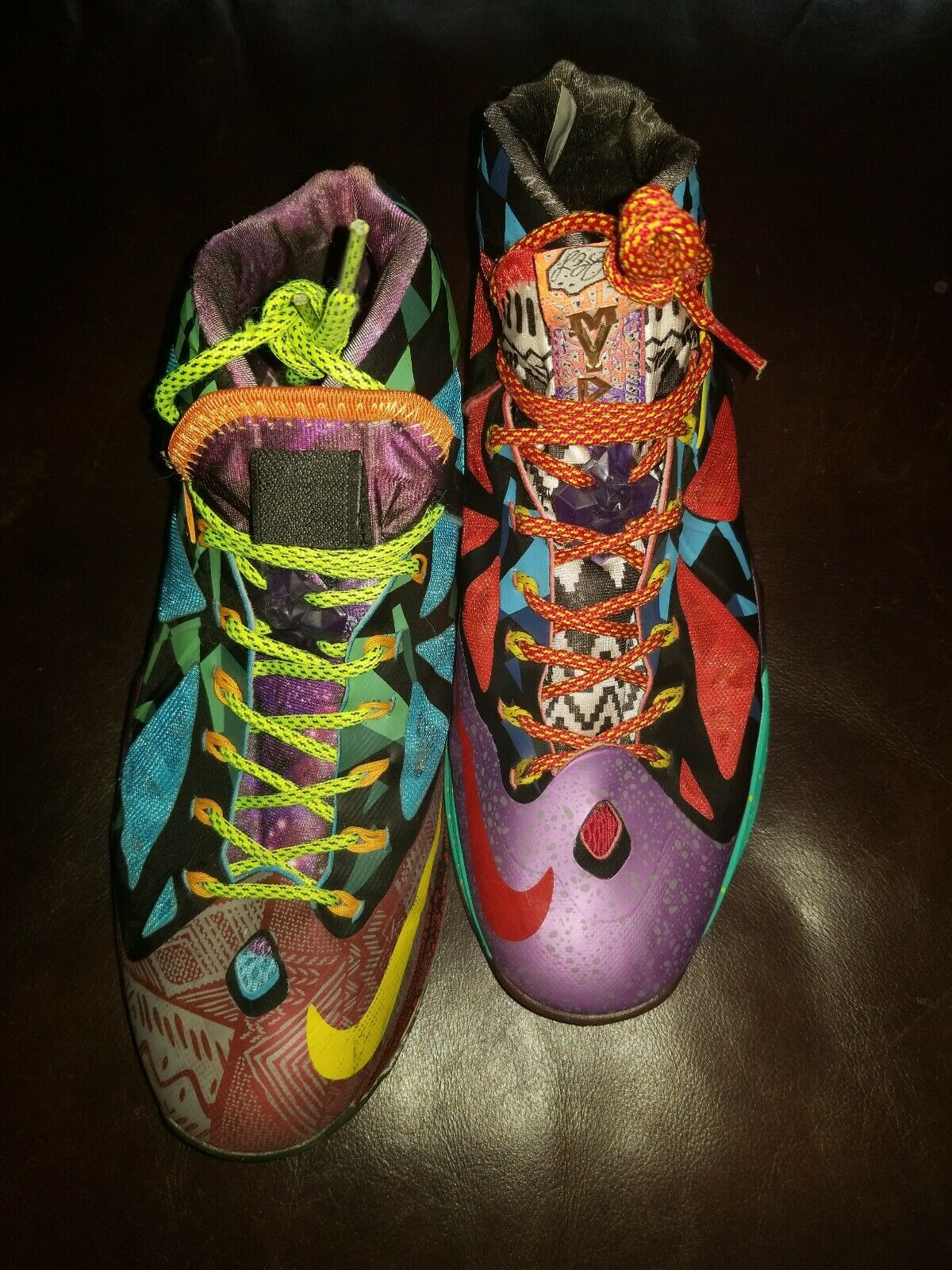 Nike Lebron X 10 What The MVP  Multicolord Size Mens 11