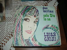 "LUISA GHINI "" DUE LACRIME (Califano) - SOLO DIO LO SA "" ITALY'69"