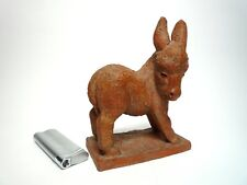 Ein bezauberndes Esel aus Terrakotta-- Karlsruher Majolika(?)