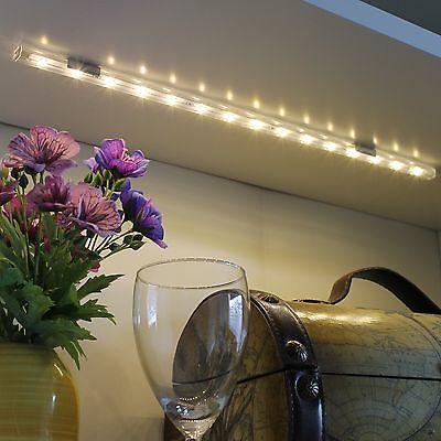 4 x 40cm LED Lichtleiste Leisten Unterbauleuchte Küchenlampe Möbelleuchte *j13