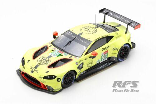Aston Martin Vantage GTE 24h Le Mans 2019 Thiim Sorensen Turner 1:18 Spark NEU