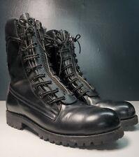 Tashchyan Gt Combat Boots Firefighting Fire Steel Toe Leather Black Mens 75 8