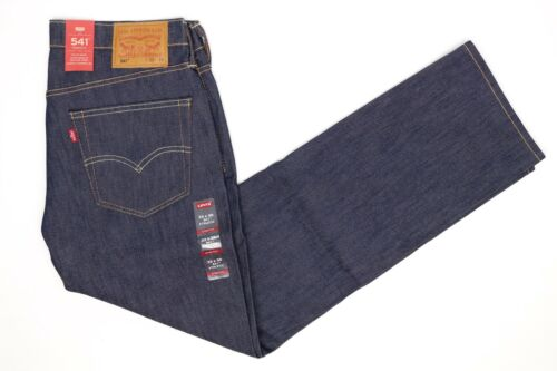 541 Stretch Jeans Cone Athletic Denim Hommes Nwt Chêne Foncé Levis Bleu Blanc 33x30 kuiXZP
