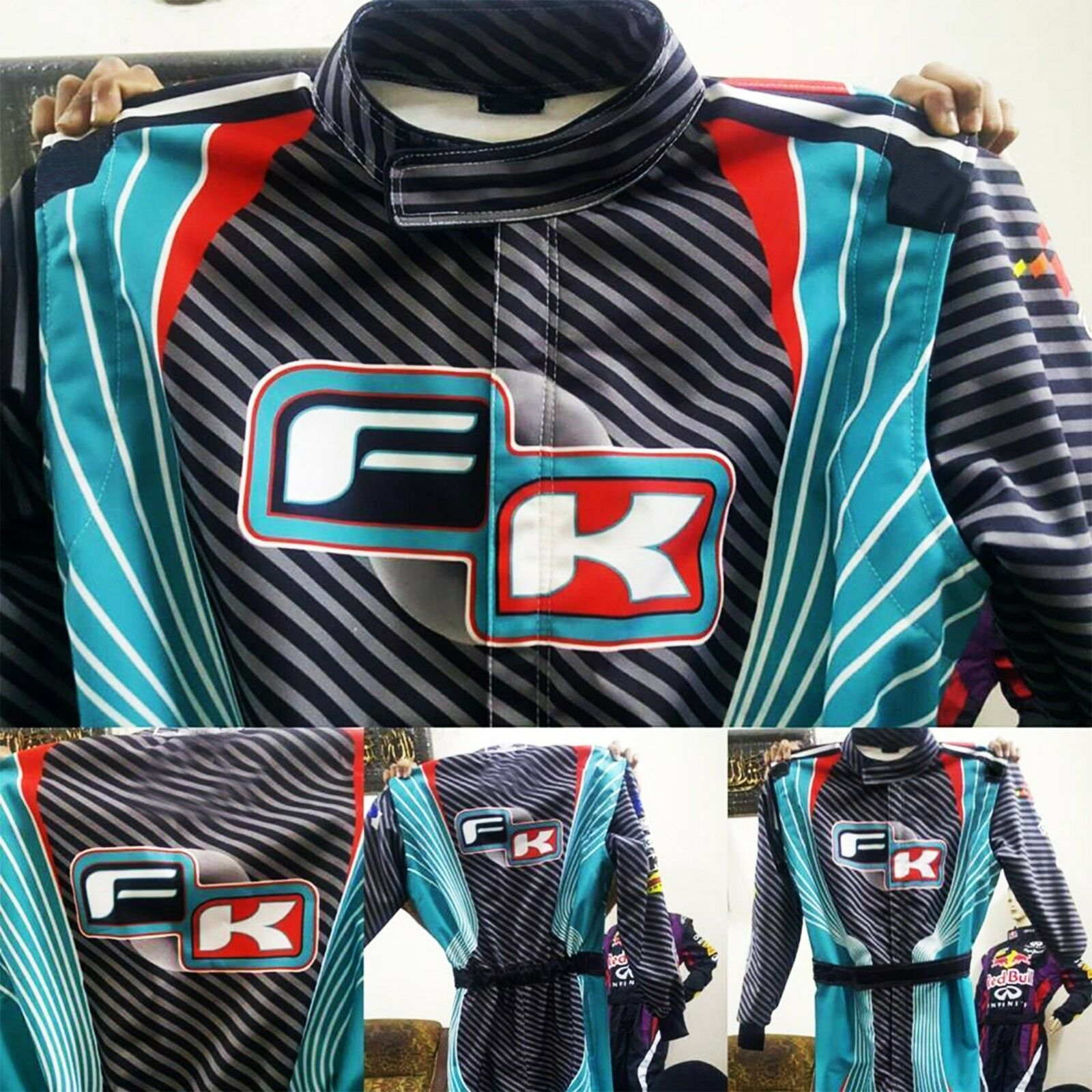 FK Go Kart Race Suit-Level-2- Karting Suit with-free-gift Balaclava