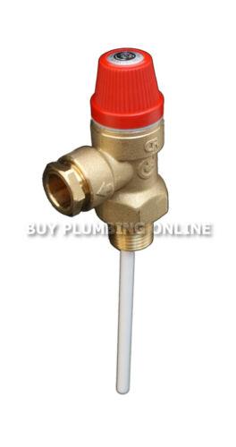 FlowMaster température /& soupape de sûreté 7 bar 90 degrés ts202