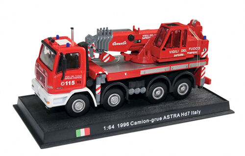 Fire Truck Camion-grue Astra HD7 Italy 1996-1//64 No8