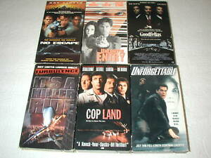 RAY-LIOTTA-6-PACK-VHS-MOVIE-LOT-RARE-OOP-HTF