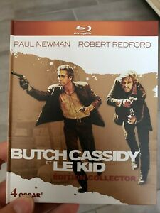 BLU-RAY-DVD-collector-BUTCH-CASSIDY-ET-LE-KID-livret-Redford