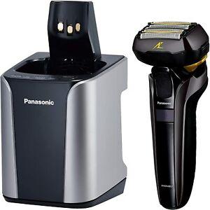 Panasonic-Shaver-ES-LV9D-S-LAMDASH-5-Flute-Silver-Tone-MENS-Tracking-number-NEW