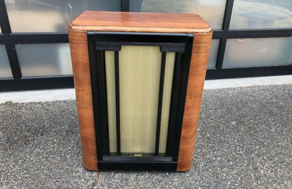 1940s Northern Western Electric Altec 604 Duplex Speaker In Original 605 Cabinet