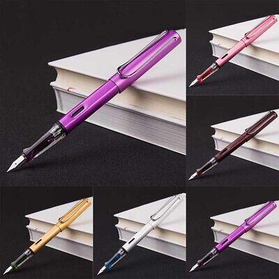 Aluminum Alloy WING SUNG 6359 Fountain Pen Extra Fine Nib 0.38mm 8Colors