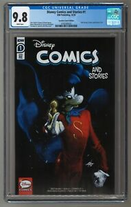 Disney Comics and Stories #1 Gabriele Dell'Otto CGC 9.8 SUPER GOOF SOLD OUT!!!
