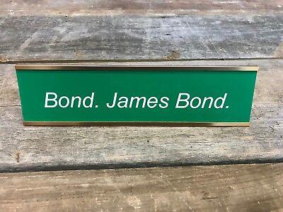 HEAD HONCHO Engraved Desk SignName Plate Valentine Funny Friend Gag Boss Gift
