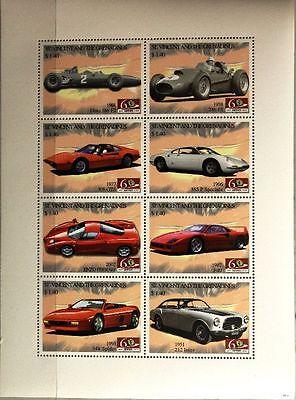 Ausdauernd St Vincent 2007 Klb 6381-88 Ferrari Automobile Sports Cars Sportwagen Autos Mnh Motive