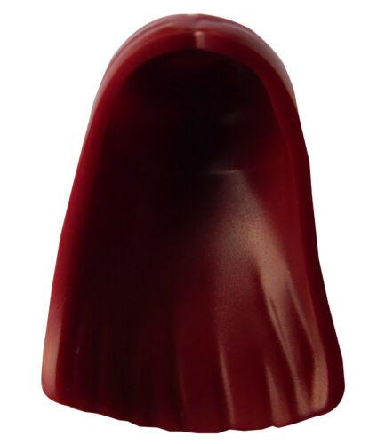 Lego lange Haare in dunkelrot Mittelscheitel für Minifigur 41612 Frau Sally Neu