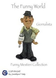 Mestieri-Funny-Collection-Les-Alpes-Journalist-014-12016-Caricature-Resin