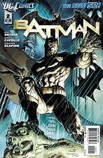 NEW DC 52 BATMAN #2 1:25 JIM LEE VARIANT COVER!