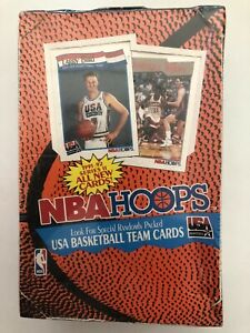 1991-92-NBA-Hoops-Basketball-Series-2-Box-Factory-Sealed-Michael-Jordan-USA
