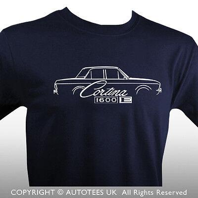 Retro Classic Jaguar MK2 Inspired T-Shirt