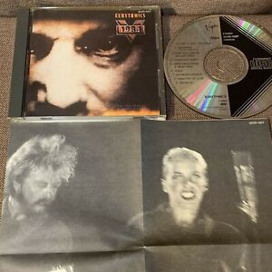 EURYTHMICS 1984 Soundtrack JAPAN CD 32VD-1007 w/INSERT Black Triangle 1986 issue