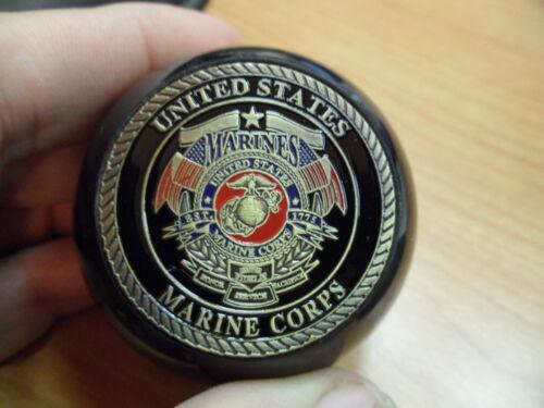 Marine Corp Challenge Coin Pool Ball Shift Knob Jeep YJ and others TJ U.S JK
