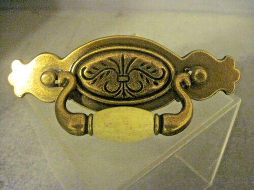 5 INCH WIDE METAL DRAWER PULL WITH RESIN HANDLE