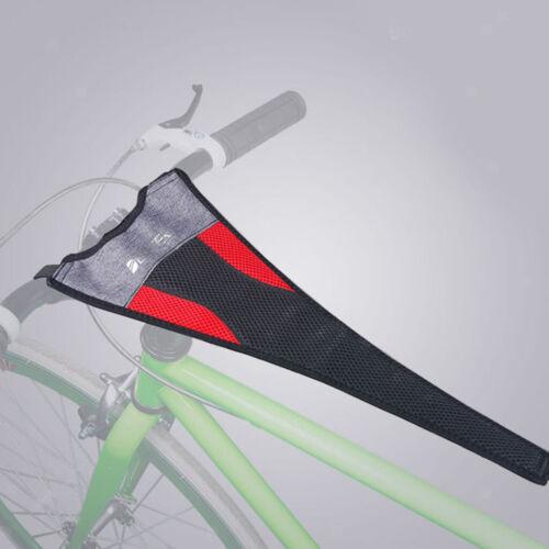 Bike Trainer Sweat Net Cover Strap Frame Guard Belt Phone Holder Case