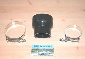 """Conector Carga tubos de aire con motores turbo 2,5/"""" Manguera de silicona 64 mm rojo nuevo"""