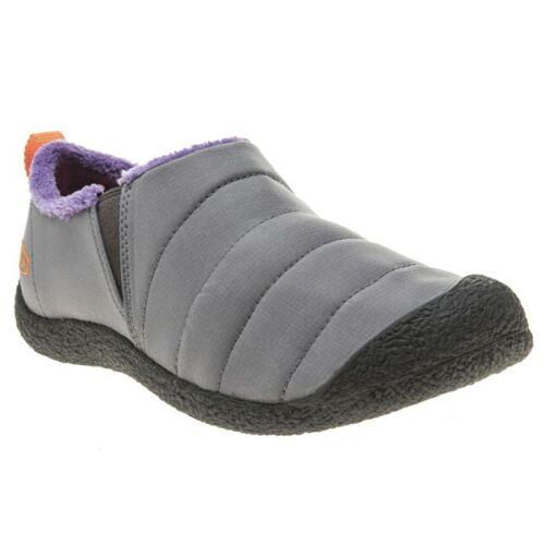 New Womens Keen Grey Howser Nylon Slippers Slip On