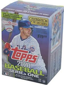 2020-Topps-Baseball-Series-1-Retail-Edition-Factory-Sealed-7-Pack-Relic-Box