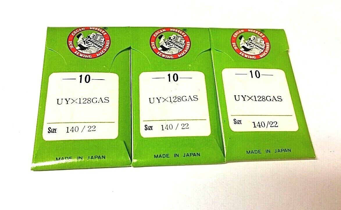 Organ Sewing Machine Needles 80//12SES UY128GAS