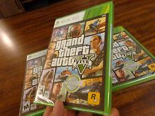 Grand Theft Auto V XBOX 360  Grand Theft Auto 5 FIVE NEW FACTORY  SEALED
