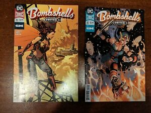 2018 DC Comics BOMBSHELLS #17 United ~ VF//NM Book