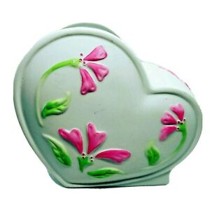 "Vintage FTD, Valentines Heart Planter, Vase, ""Especially For You"""
