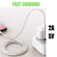 miniature 5 - 5 Pack USB Fast Charger Cable Charging Cord 3/6Ft For iPhone 12 11 8 7 6 Plus Xs